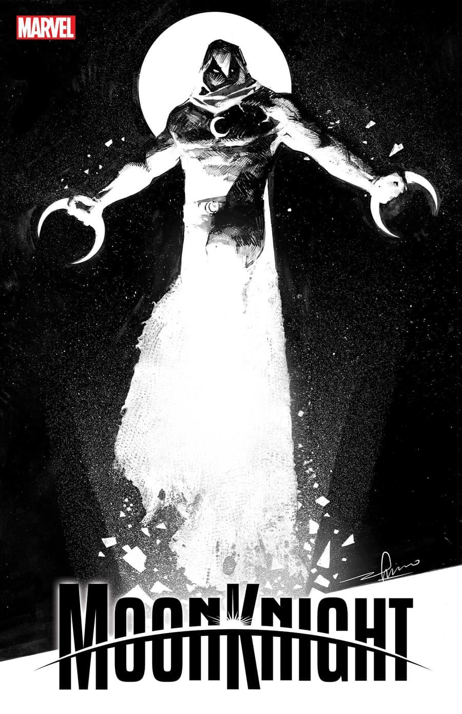 MOON KNIGHT #1 variant cover by Gerardo Zaffino