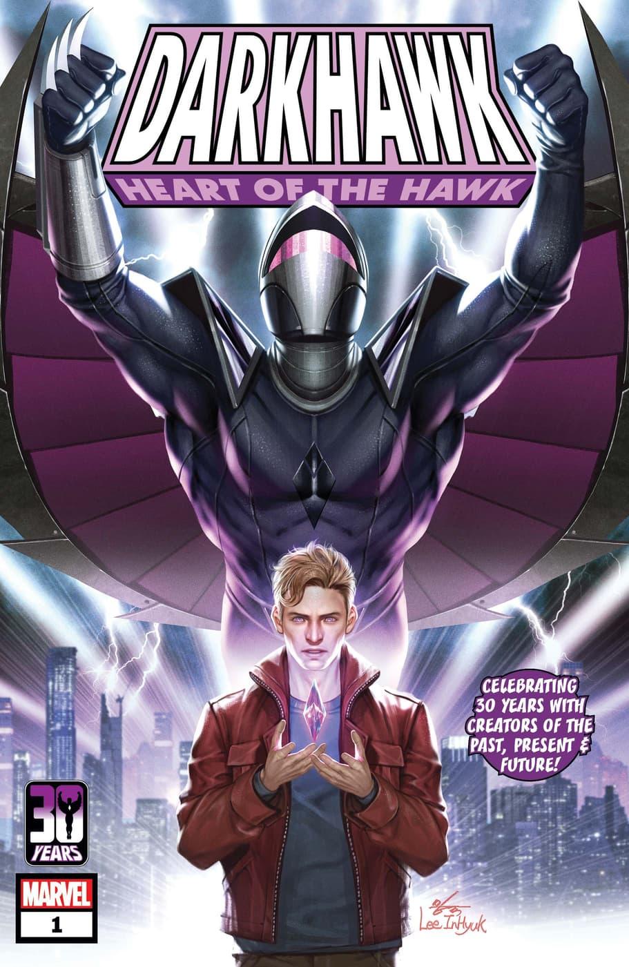 DARKHAWK: HEART OF THE HAWK #1 cover by In-Hyuk Lee