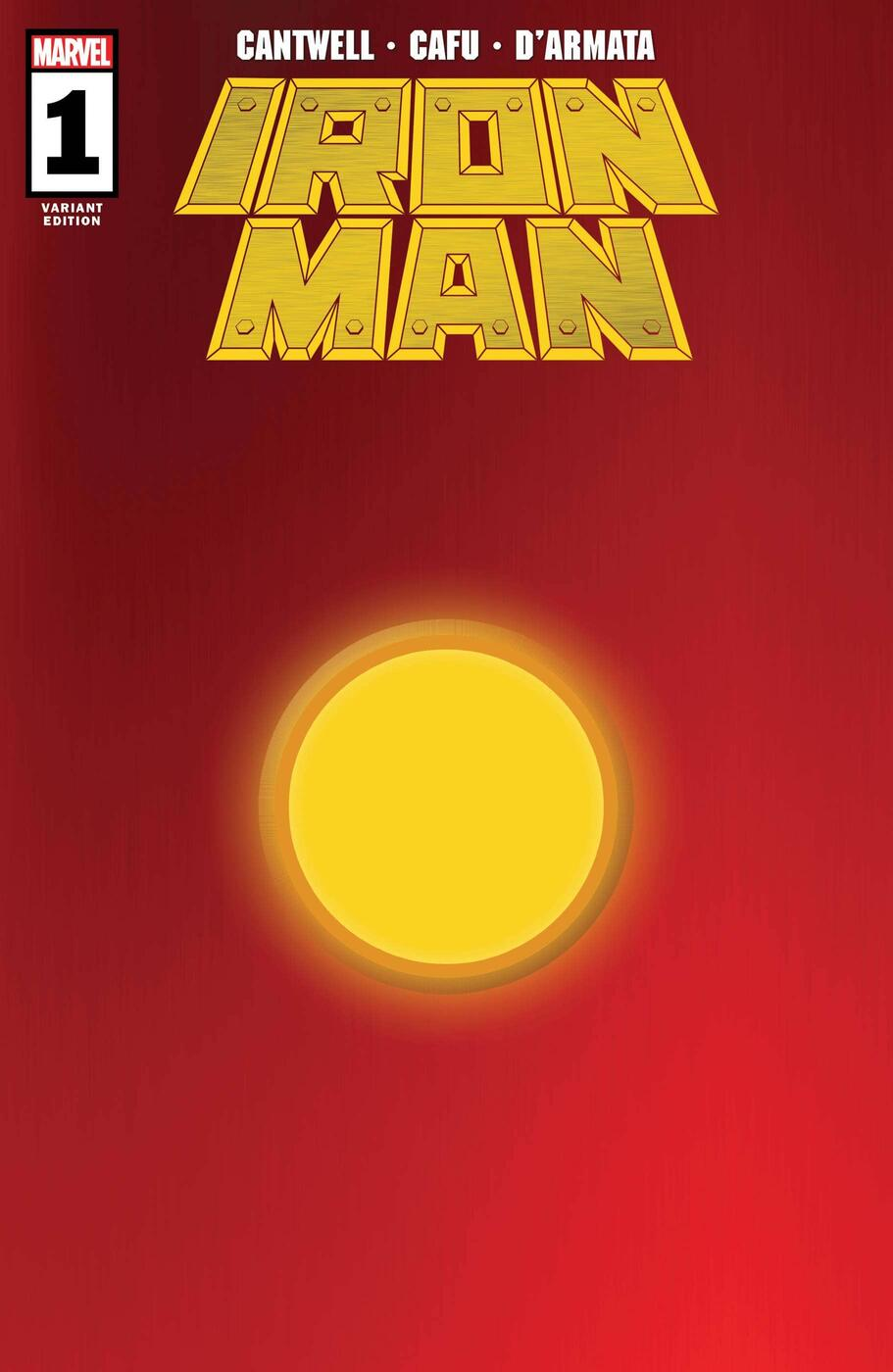 IRON MAN #1 variant cover