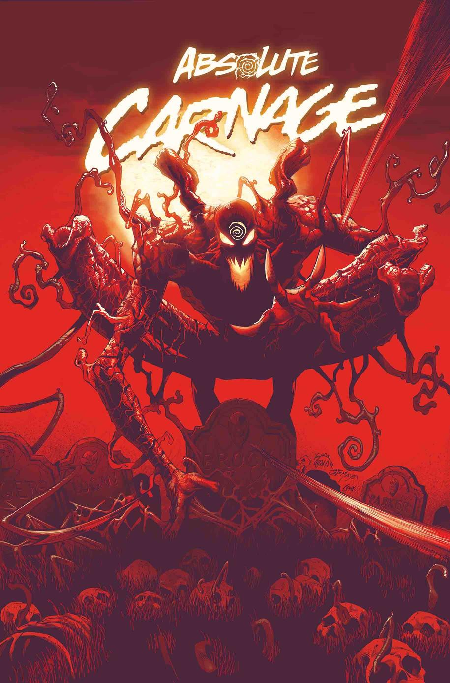 ABSOLUTE CARNAGE #1 cover pencils by Ryan Stegman