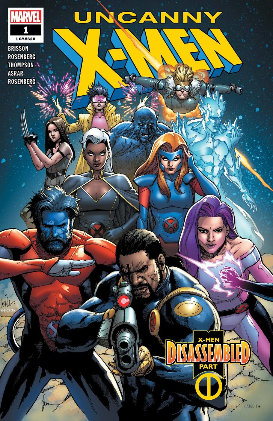 Uncanny X-Men (2018) #1