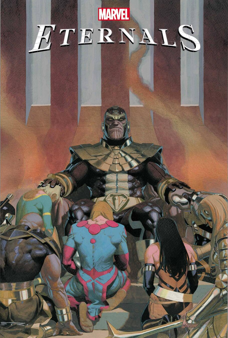 ETERNALS #7 cover by Esad Ribic