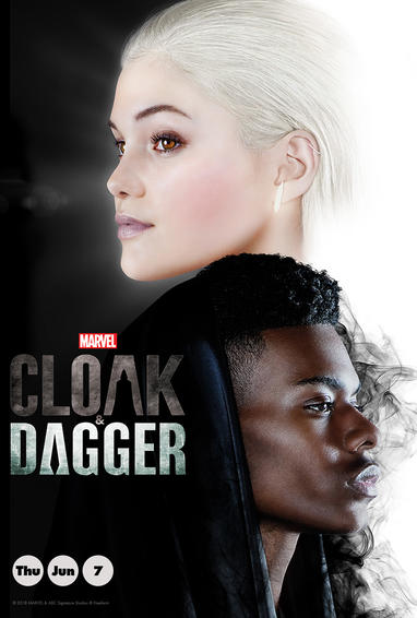Marvel's Cloak and Dagger TV Show Poster