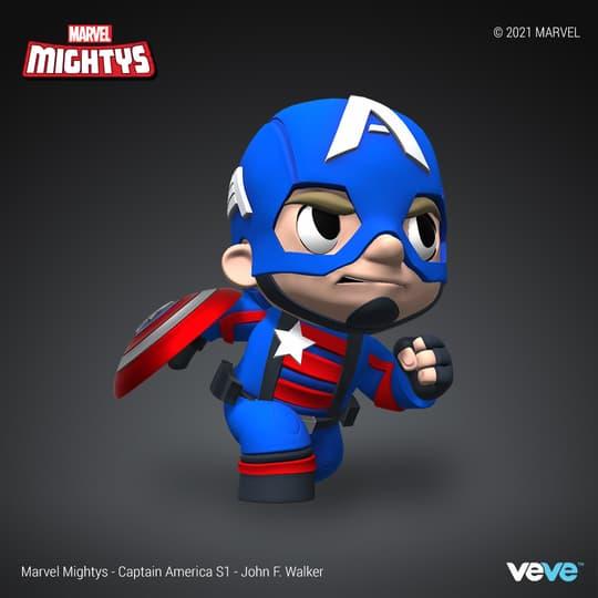 Marvel Mightys - Season 1 - Captain America - John F. Walker - UNCOMMON