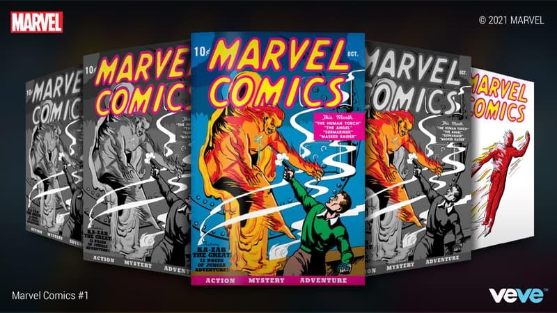 MARVEL COMICS #1 digital collectible NFT