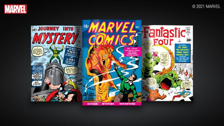 First-Ever Marvel Digital Comic Collectibles Arrive on VeVe