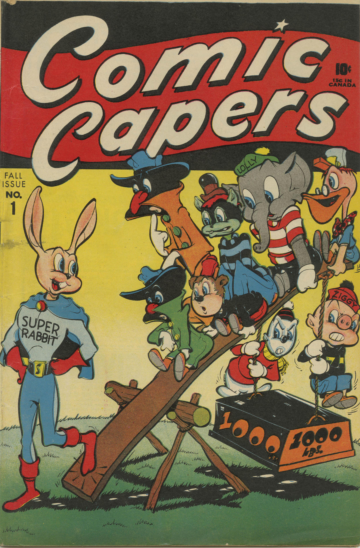 Cover of Comic Capers
