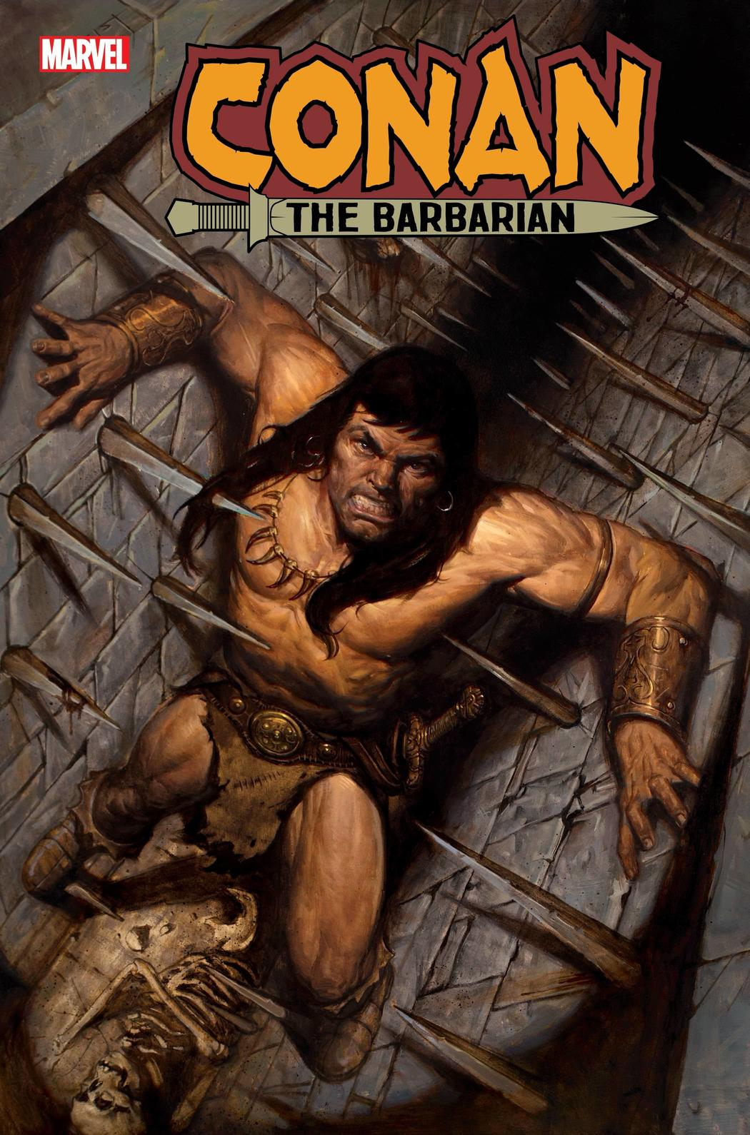 CONAN THE BARBARIAN #15 WRITTEN BY JIM ZUB, ART BY ROGÊ ANTÔNIO, COVER BY E.M. GIST