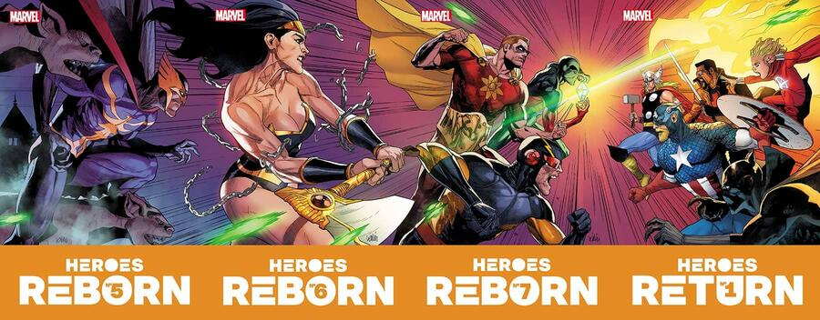 Heroes Reborn connecting covers
