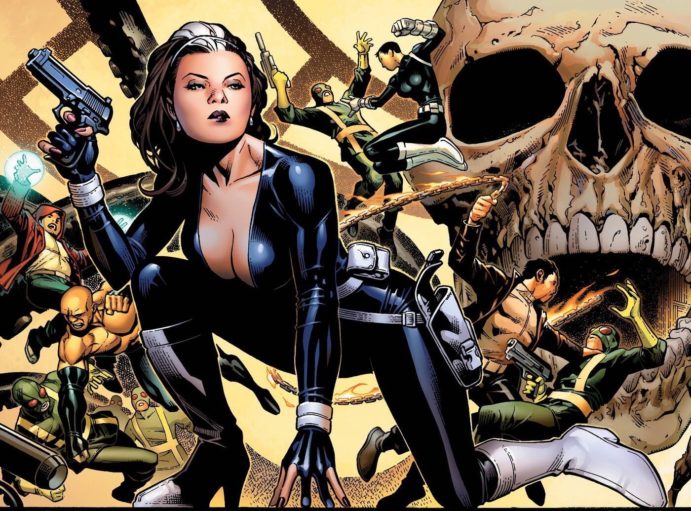 The Contessa in action against Hydra.