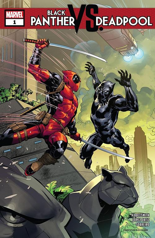 BLACK PANTHER VS. DEADPOOL #1 cover