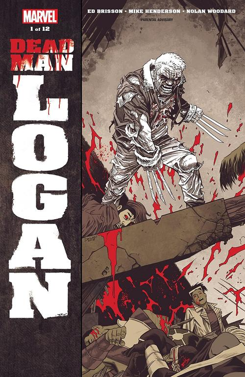 Dead Man Logan #1 cover by Declan Shalvey