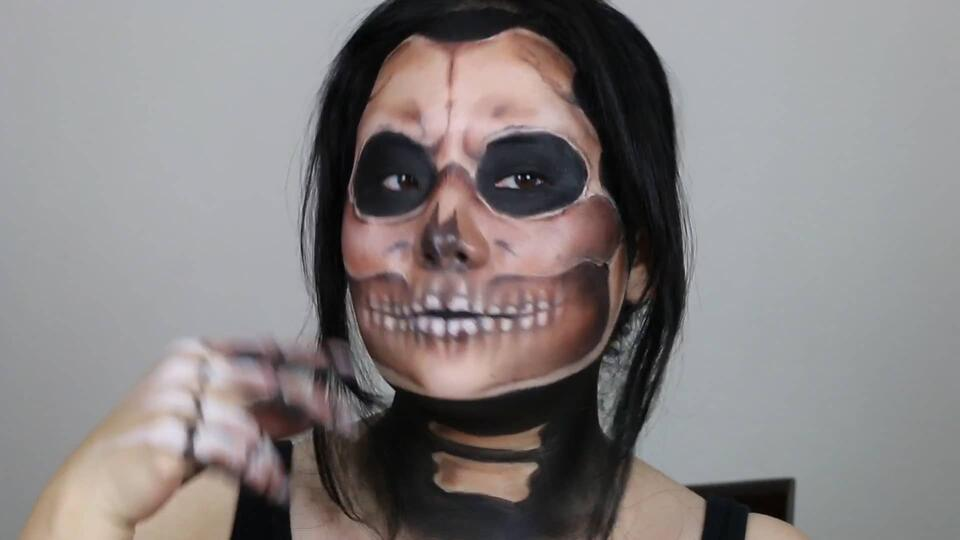 Ghost Rider Makeup