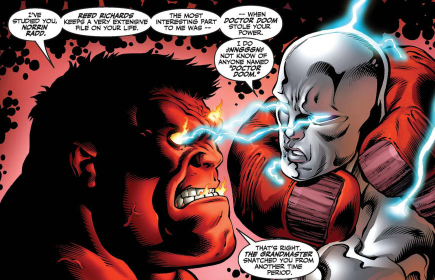 Cosmic Red Hulk