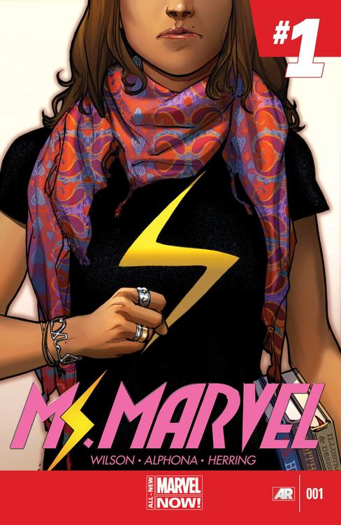 MS. MARVEL (2014) #1, Kamala Khan's first solo issue