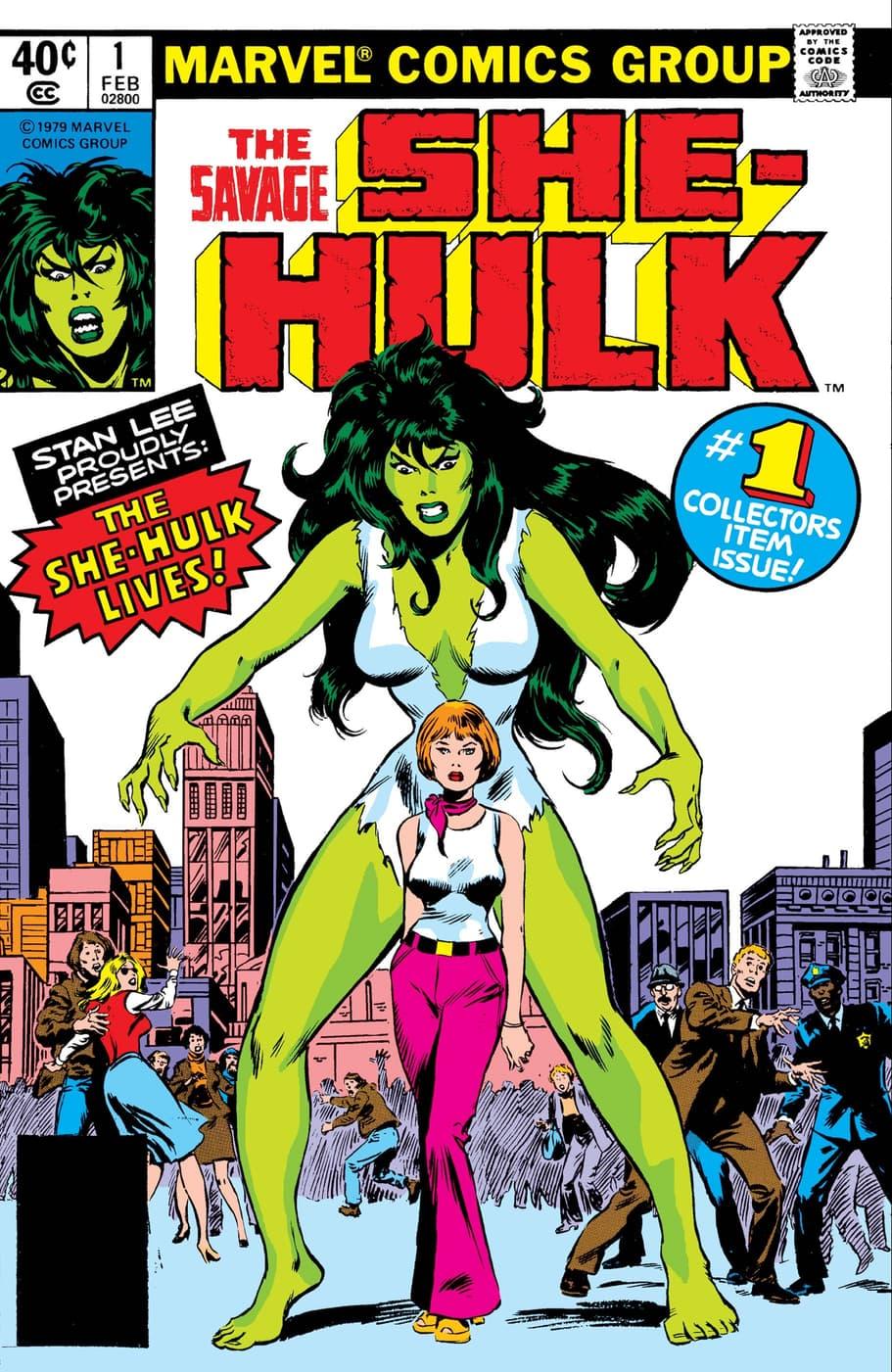 Cover to SAVAGE SHE-HULK (1980) #1