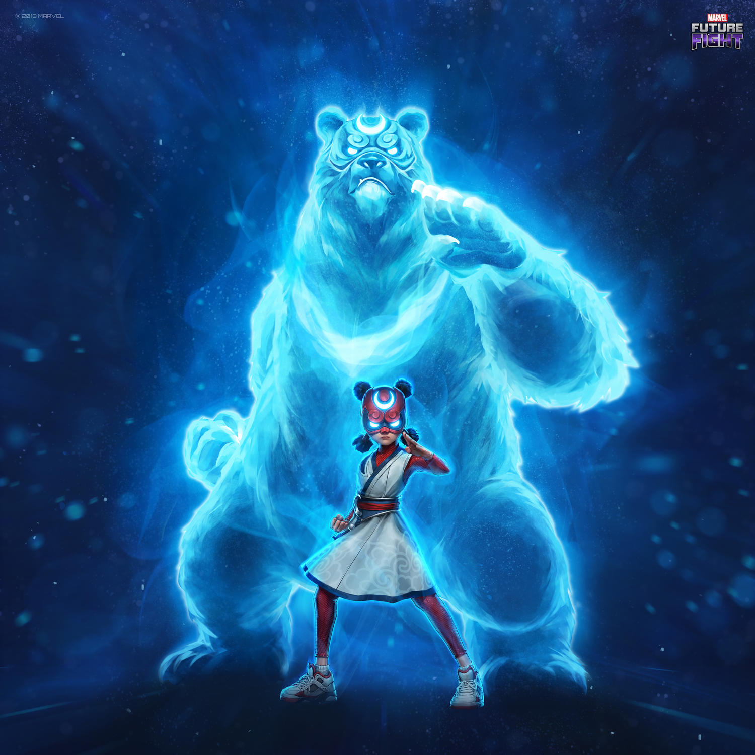 Meet All-New Original Korean Super Heroes Crescent & Io in MARVEL Future Fight