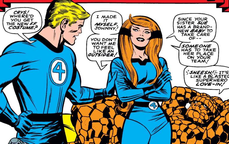 Crystal joins Fantastic Four