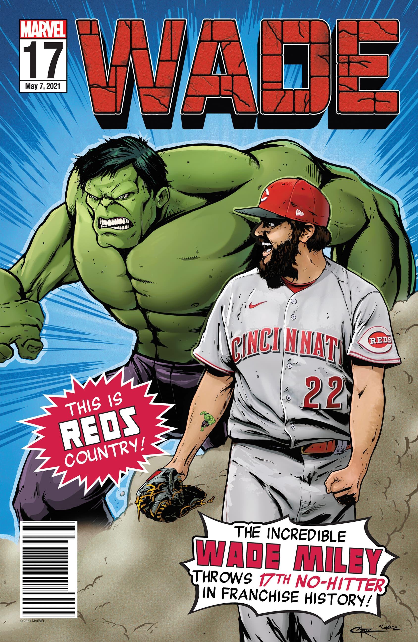 Wade Miley Hulk Poster