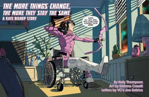 Kate Bishop Marvel Tales