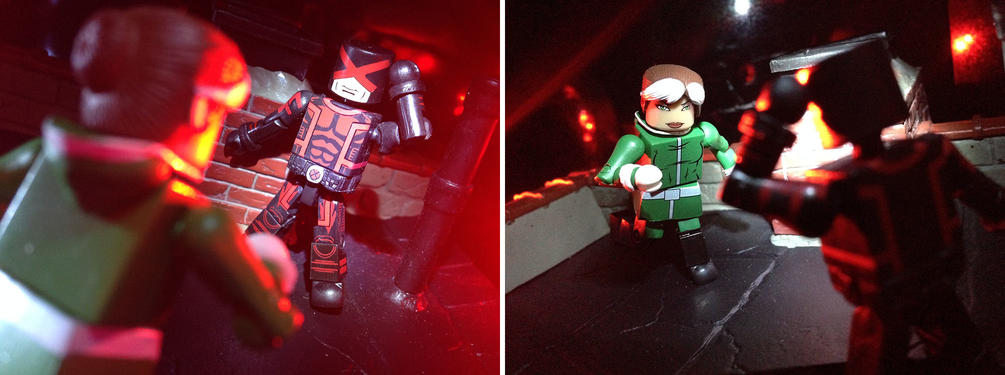 Marvel Now Cyclops with Marvel Now Rogue Marvel Minimates