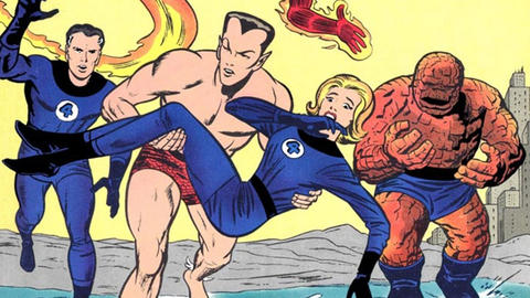 Image for Kirby 100: The Coming of…Sub-Mariner