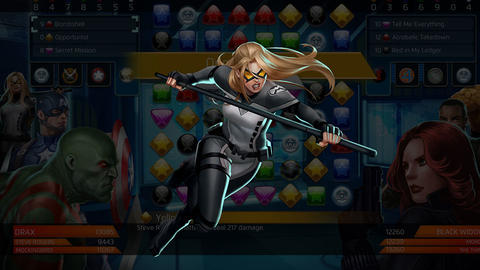 Image for Piecing Together Marvel Puzzle Quest: Mockingbird