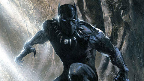 Image for Black History Month: The Black Panther