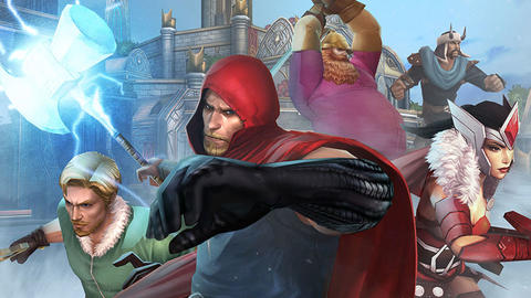 Image for Asgardians Ride the Bifrost into 'Marvel Future Fight'