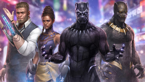 Image for Explore Wakanda in 'Marvel Future Fight'