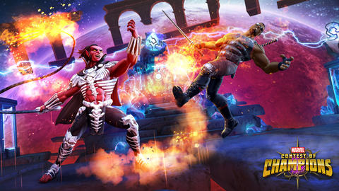 Image for Entering Marvel Contest of Champions: Mephisto