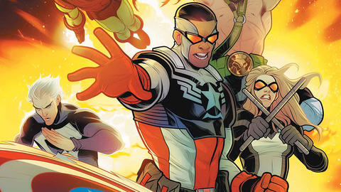 Image for Captain America: Sam Wilson – Riotous Returns