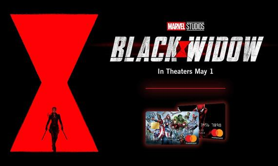 Marvel Studios Black Widow Marvel Mastercard Sweepstakes