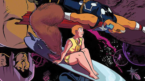 Image for The Unbeatable Squirrel Girl: In Space!