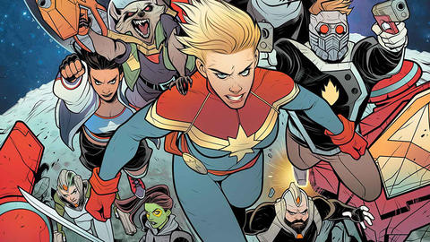 Image for Mighty Captain Marvel: A Tale of Two Captains