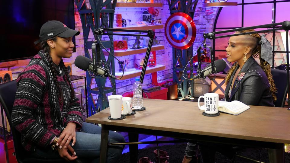 Image for WNBA Star A'ja Wilson Visits Marvel's Voices