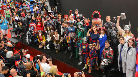 Image for Get Ready for Marvel Cosplay at SDCC!