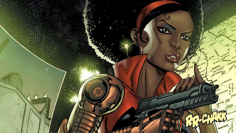 Image for Black History Month: Misty Knight