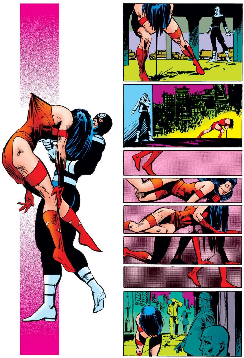 Elektra's death