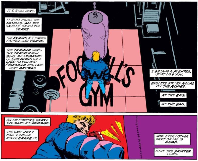 Daredevil Matt Murdock at Fogwell's Born Again
