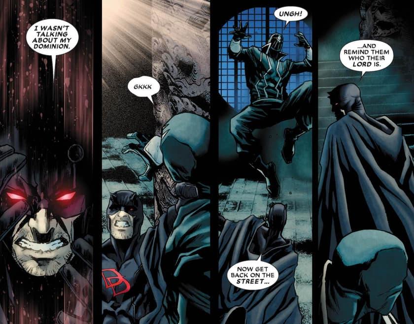 Daredevil goes dark