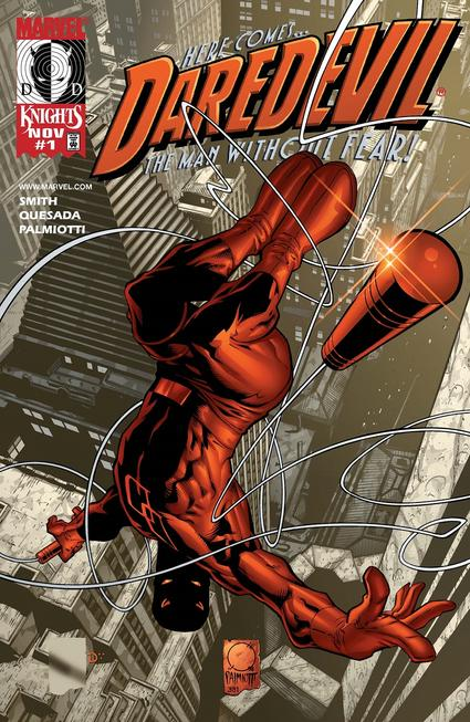 Daredevil #1 cover by Joe Quesada