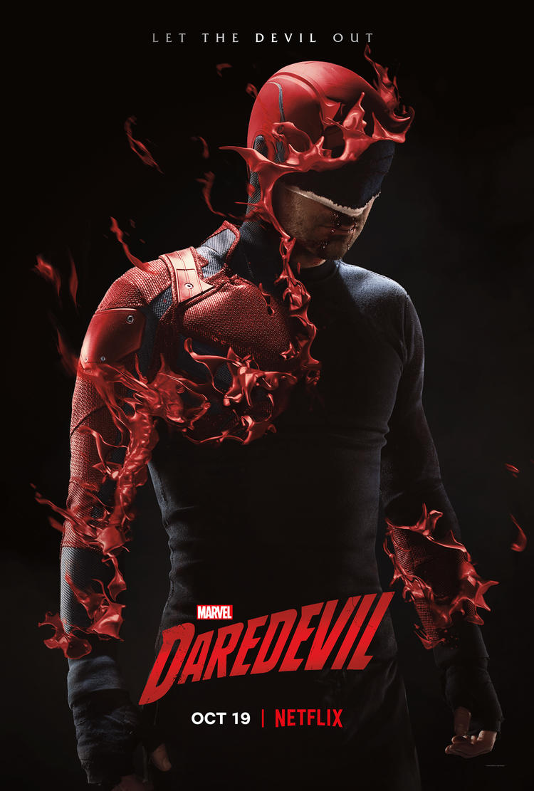 Marvel's Daredevil Season 3 Key Art