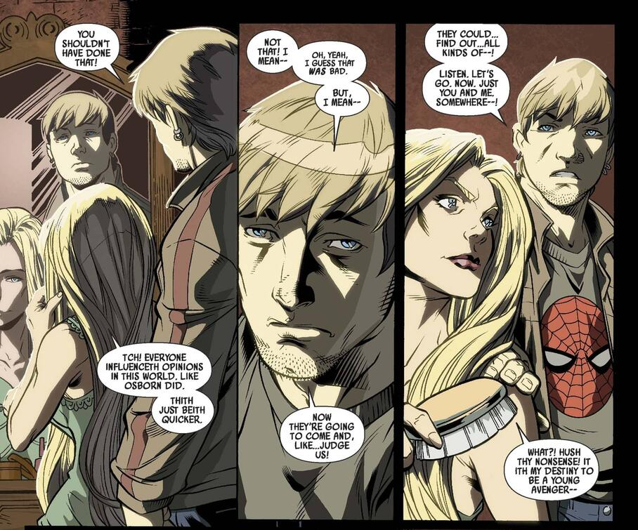 Sylvie remains convinced that her mind games are worth the cost of becoming a Young Avenger in DARK REIGN: YOUNG AVENGERS (2009) #2.