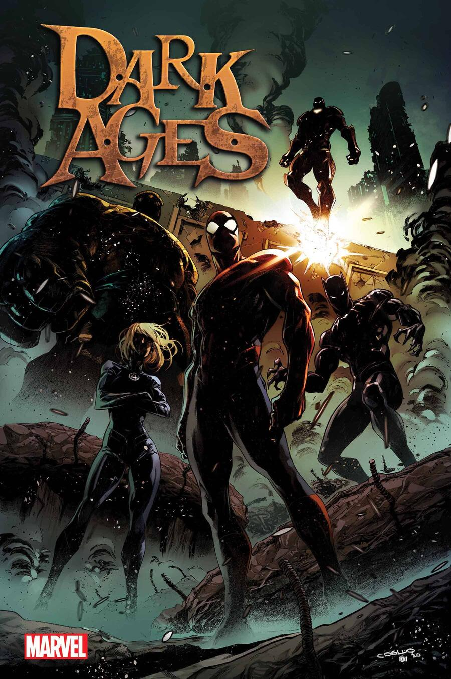 DARK AGES #1 cover by Iban Coello