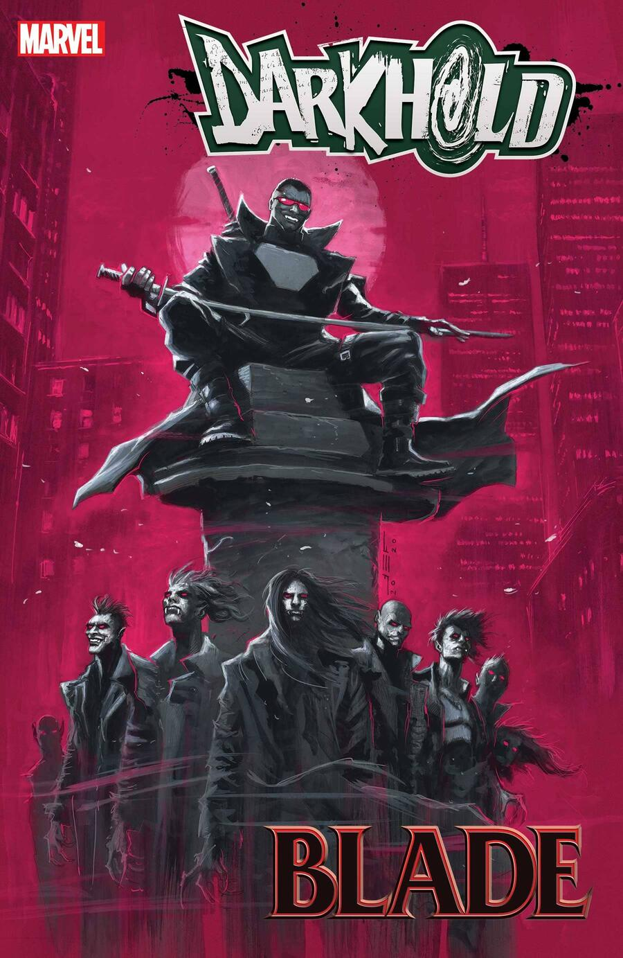 THE DARKHOLD: BLADE #1 cover by Juan Ferreyra