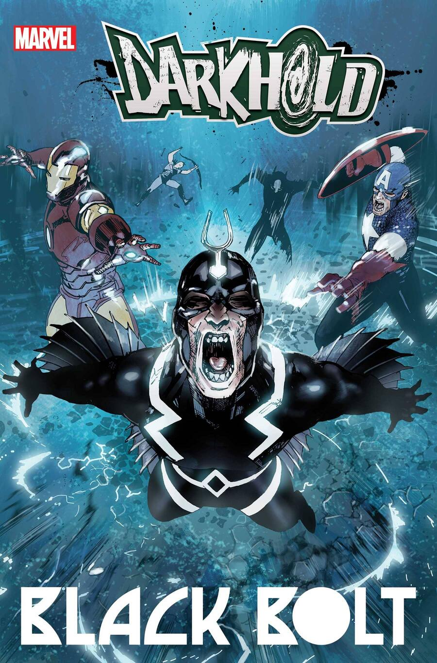 THE DARKHOLD: BLACK BOLT #1 cover by Travel Foreman