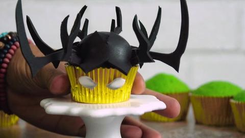 Image for Make These Hela-Inspired Cupcakes