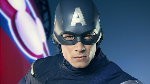 Image for Meet the Super Heroes of Marvel Day at Sea: Captain America