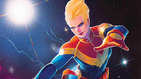 Image for Mighty Captain Marvel: Never Sleep